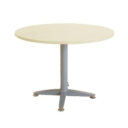 ERGOSTAR Round Table Metal [DMT-R] - Mapple - Meja Meeting